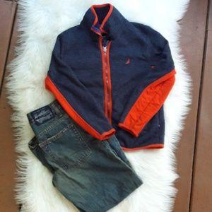 Nautica boys sweater top size 8